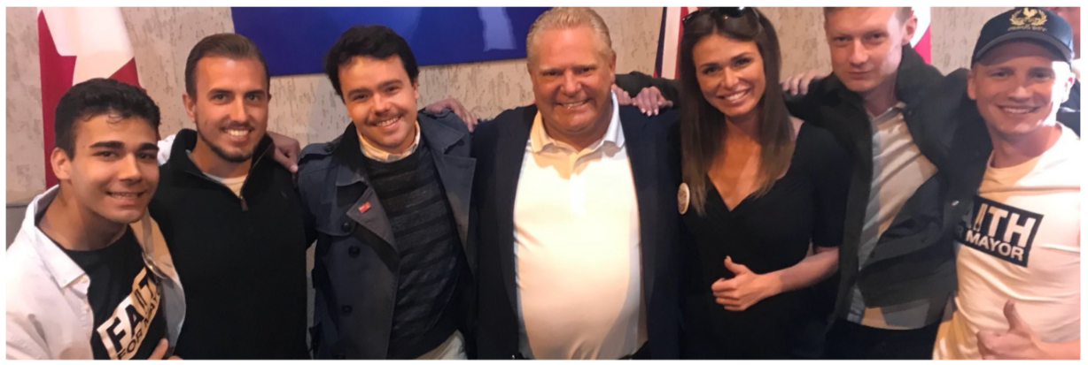 Doug Ford Faith Goldy