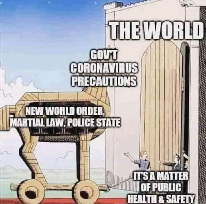 Covid Trojan Horse