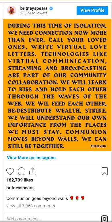 Spears Instagram